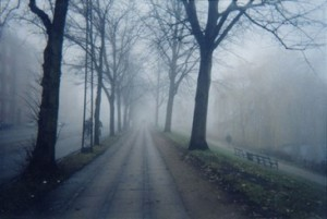 ghost on street