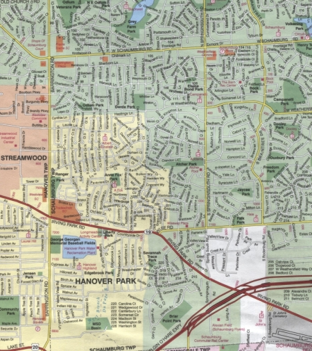 Schaumburg Map