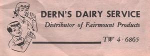Dern's Dairy Service