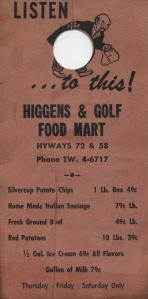 Higgins and Golf Food Mart 2