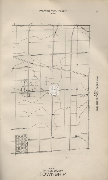 Schaumburg Township map 2