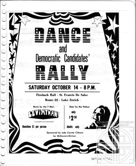 Democratic Dance Flyer