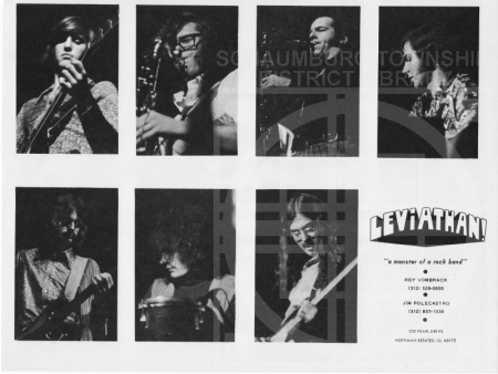 Flyer of band playing