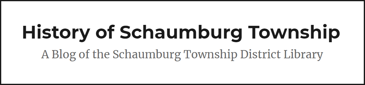 History of Schaumburg Township